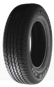Toyo OPEN COUNTRY A21 245/70 R17 108S TOYOTA Land Cruiser J10, TOYOTA Land Cruiser J12, TOYOTA Land Cruiser J15TM, TOYOTA Land Cruiser J15TMG, TOYOTA